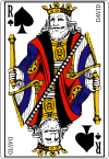 100px King of spades fr svg