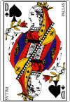 100px Queen of spades fr svg