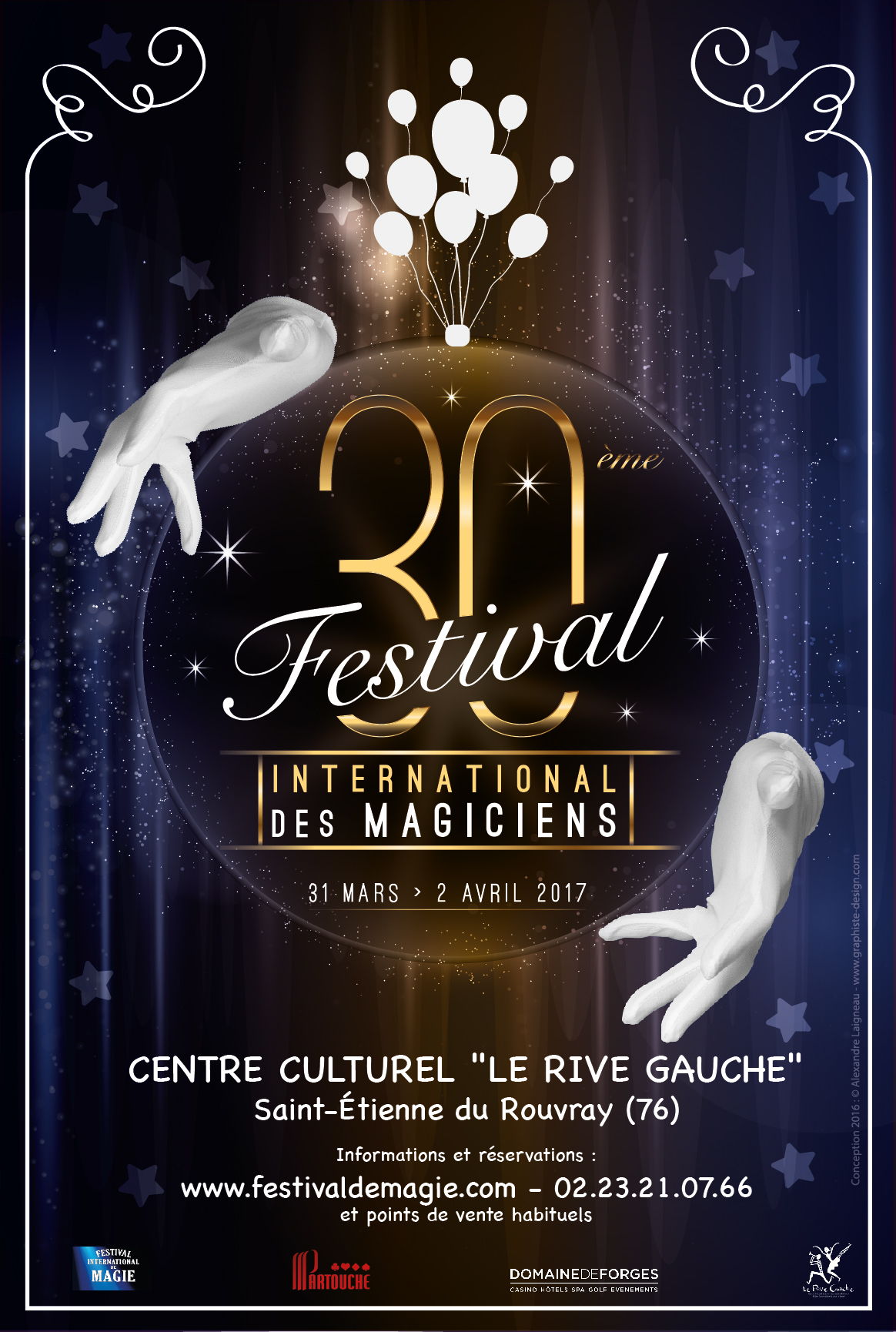 30eme Festival international des magiciens 01