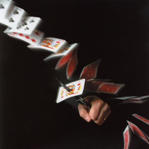 couteau et cartes