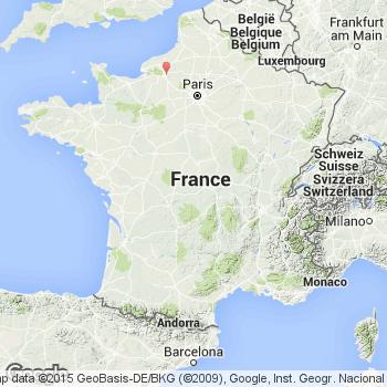 map saint etienne du rouvray 76800